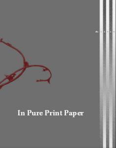 in pure print paper